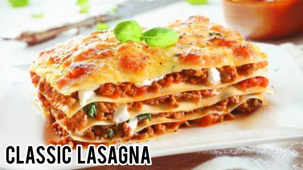 pizza lover lasagna